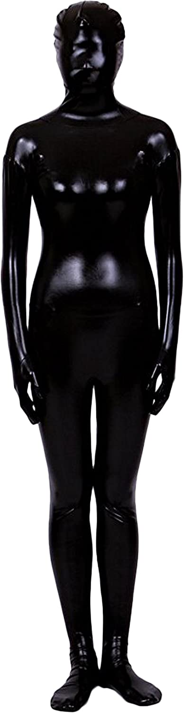 Gold Unisex Shiny Metallic Back Zip One Peice Zentai Suit