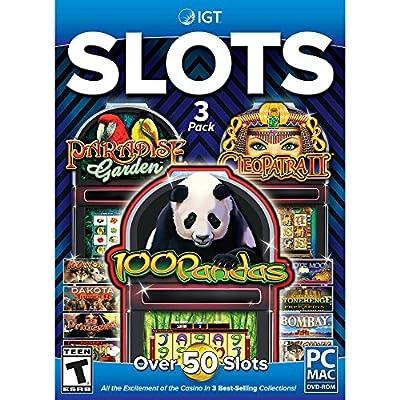 Encore Software IGT 3 Pack: 100 Pandas, Cleopatra & Paradise Garden