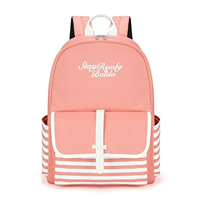 7804ba77fb28 Image Unavailable. Image not available for. Color  Fashion School Backpacks  for Teenage Girls ...