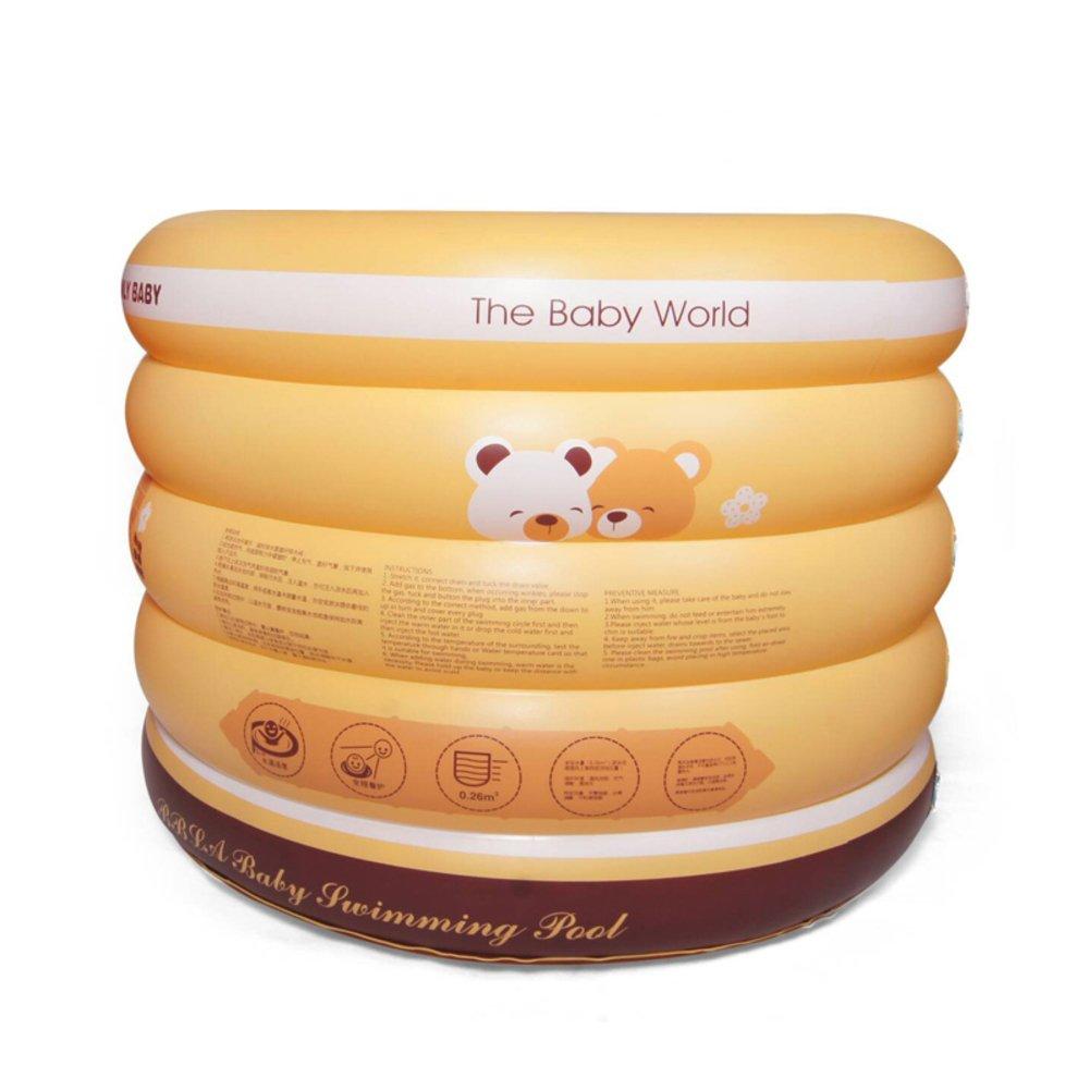 Familie Baby Schwimmbad/Runde Neugeborenen Bad für Kinder/Isolierende aufblasbaren Kinderplanschbecken/Home Babyschwimmen Fässer-A