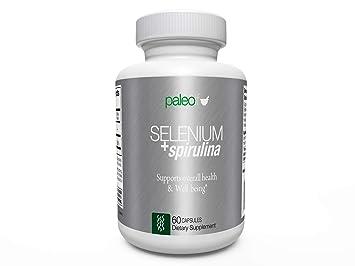 Paleo Life Selenium + Spirulina Double-Punch Detox Formula 30-Day Supply (60 Capsules)
