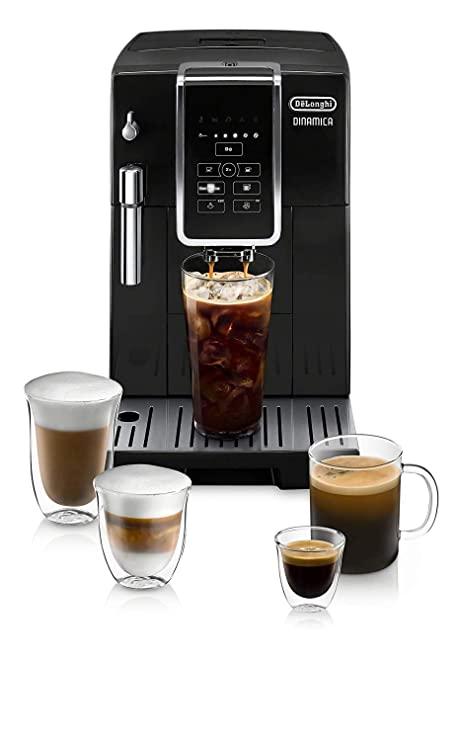 Amazon.com: DeLonghi Dinamica Super Automatic Burr Grinder ...