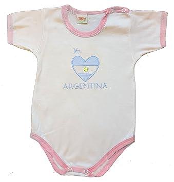 Zigozago - Body mameluco bebè ARGENTINA - Talla: 0 meses Color: rosa ...