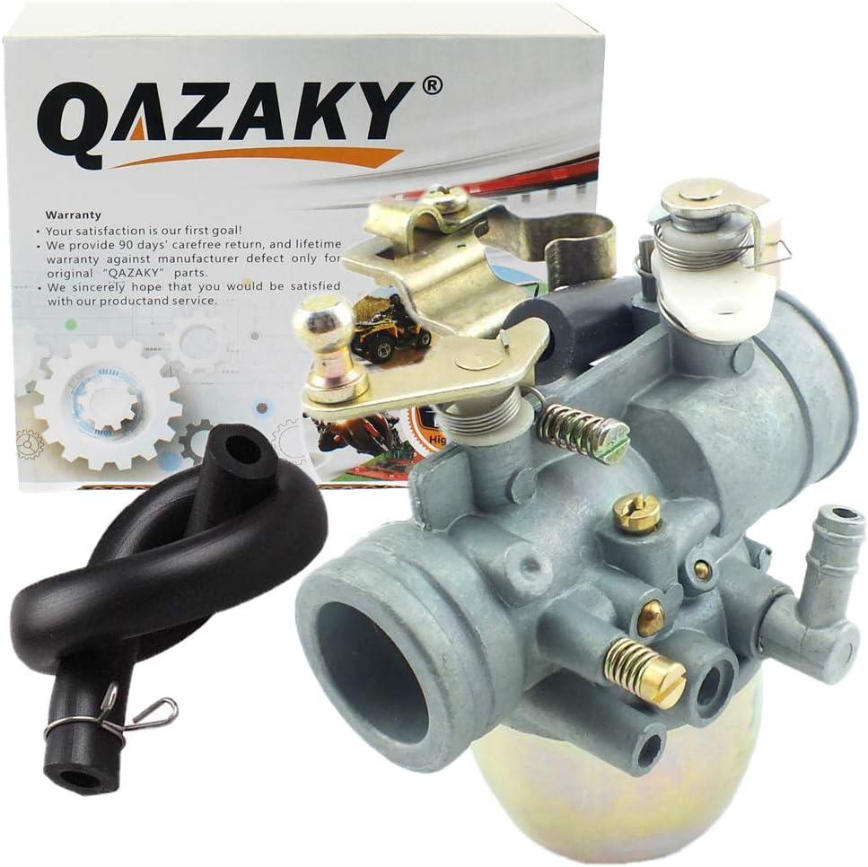 QAZAKY Carburetor Replacement for Yamaha Gas Golf Cart Club Car G1 2-Cycle 2-Stroke Engine Carb J24-14101-01 J24-14101-00 1983 1984 1985 1986 1987 1988 1989