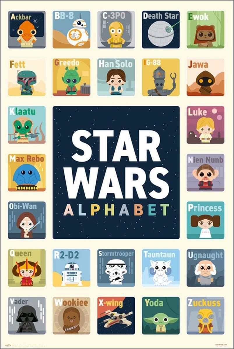 Close Up Poster Star Wars Ab/éc/édaire 61cm x 91,5cm