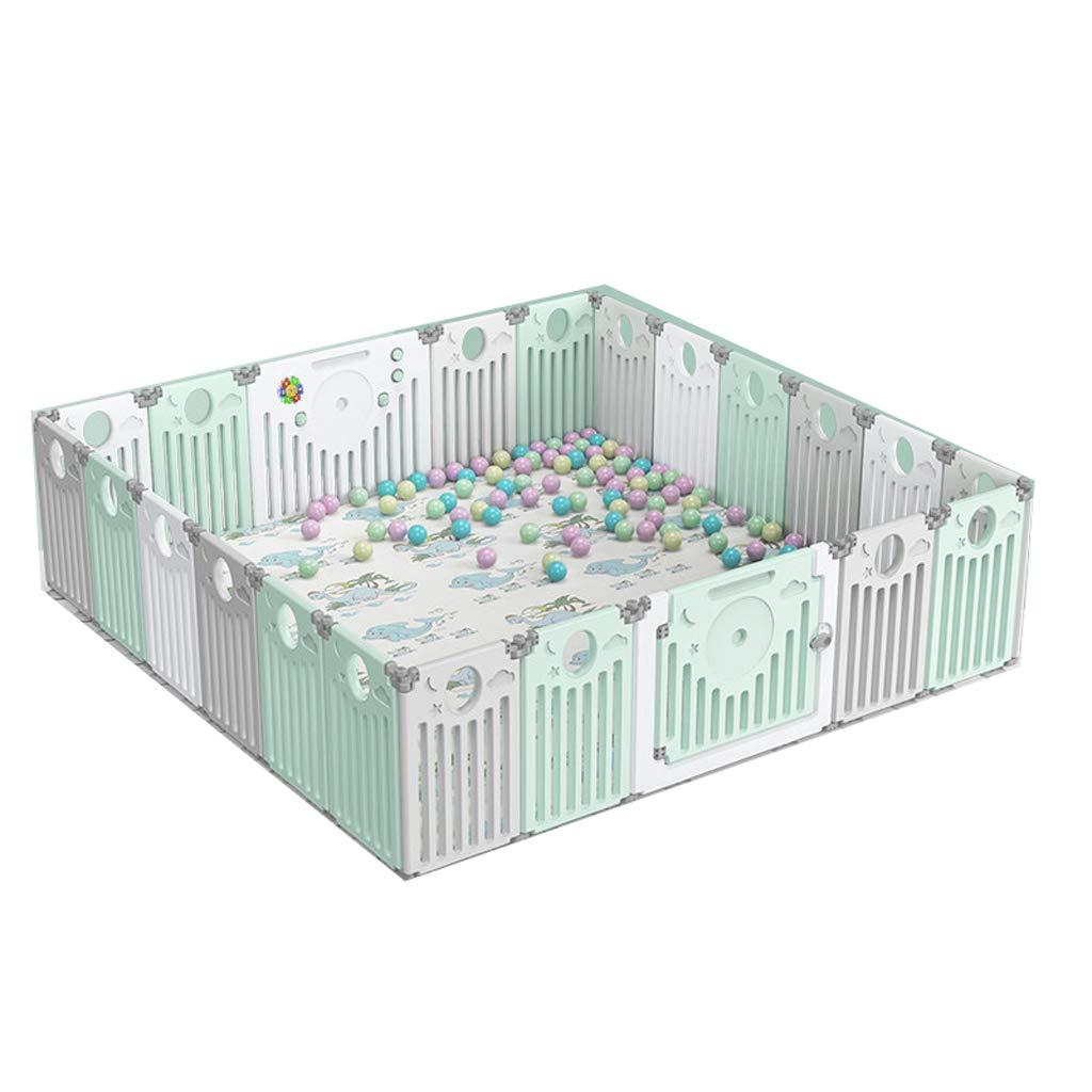LIUFS-フェンス フェンスの子供の保護折り畳み式のホームゲーム活動センタークロールマット (サイズ さいず : pieces) 20+2 pieces) 20+2 pieces : 20+2 B07L6WHLDR, 五和町:c134856f --- bennynews.com