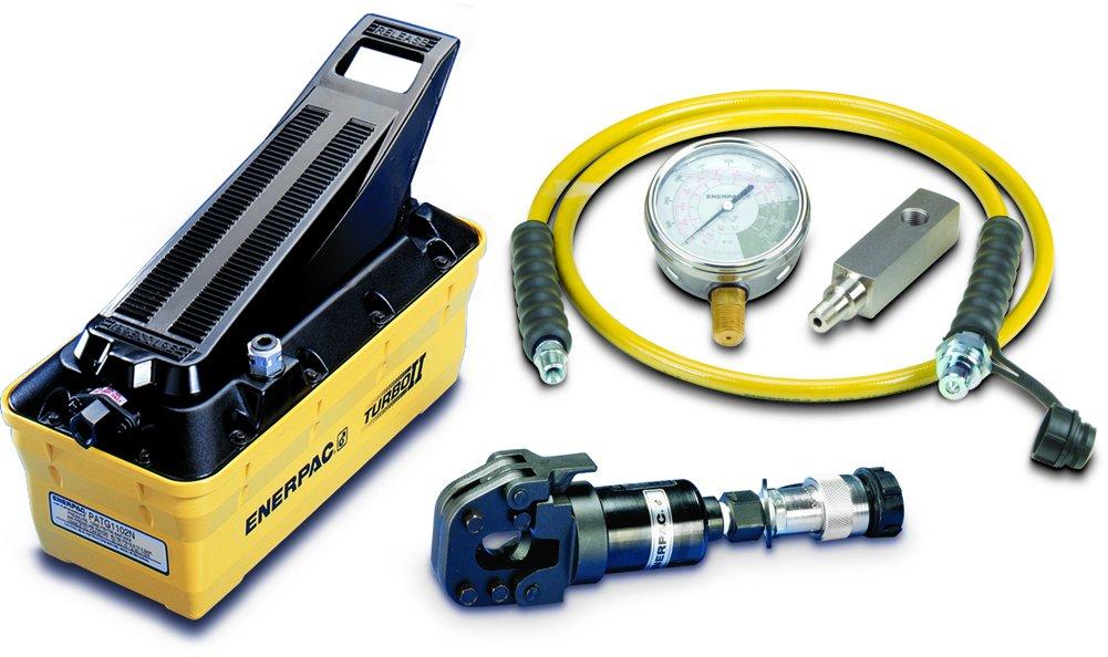 ENERPAC stc-750 a whc750 HYD cortador, W/patg1102 N Turbo Bomba (804610): Amazon.es: Amazon.es