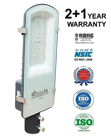 9-Watt Solar LED Street Light Luminary