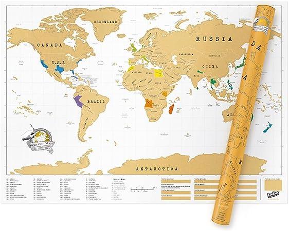 Cuisine du monde carte
