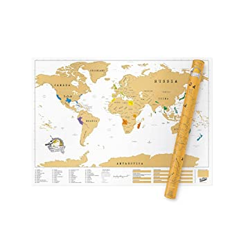 Extra large world scratch map personalized world travel map extra large world scratch map personalized world travel map scratch off map fun gumiabroncs Images