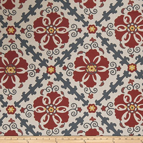 Jaclyn Smith 02605 Jacquard Punch Fabric by The Yard (Jaclyn Smith Drapes)