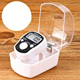 DHANIM® Stitch Marker Finger Ring Counter LED Light Electronic Tally Counter (with led)