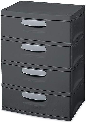 Sterilite 01743V01 4 Drawer Storage