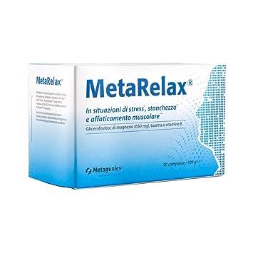 Metagenics MetaRelax New Formula Food Supplement 90 Tablets