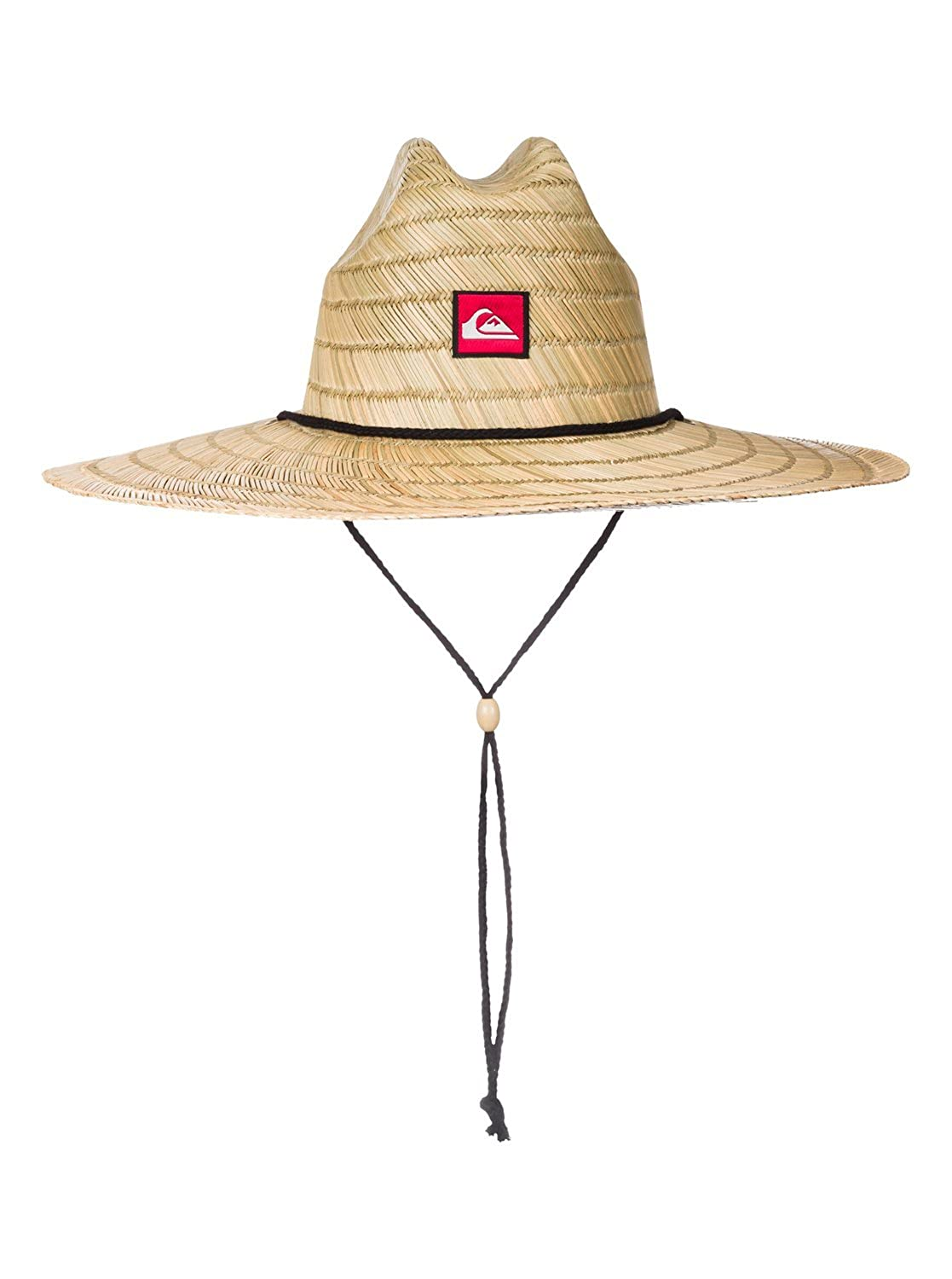 89025ac01ecbea Amazon.com: Quiksilver Men's Pierside Straw Hat, Natural, S/M: Clothing