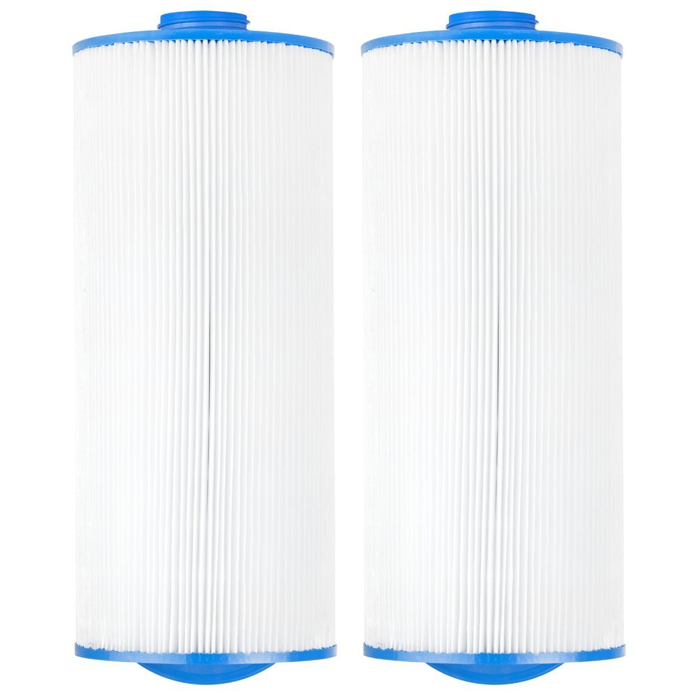 "Clear Choice CCP303 Pool Spa Replacement Cartridge Filter for Jacuzzi Premium J-300 and J400 Filter Media, 6-3/4"" Dia x 15-1/2"" Long, [2-Pack]"