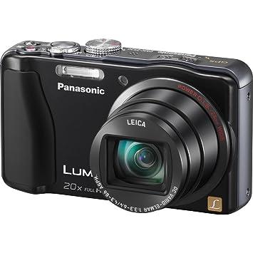 Panasonic Lumix ZS20 14 1 MP High Sensitivity MOS Digital Camera with 20x  Optical Zoom (Black) (OLD MODEL)