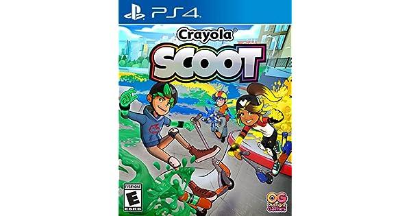 Amazon Com Crayola Scoot Playstation 4 Ui Entertainment Video Games