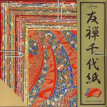 - Yuzen Chiyogami LARGE Set of 40 Sheets