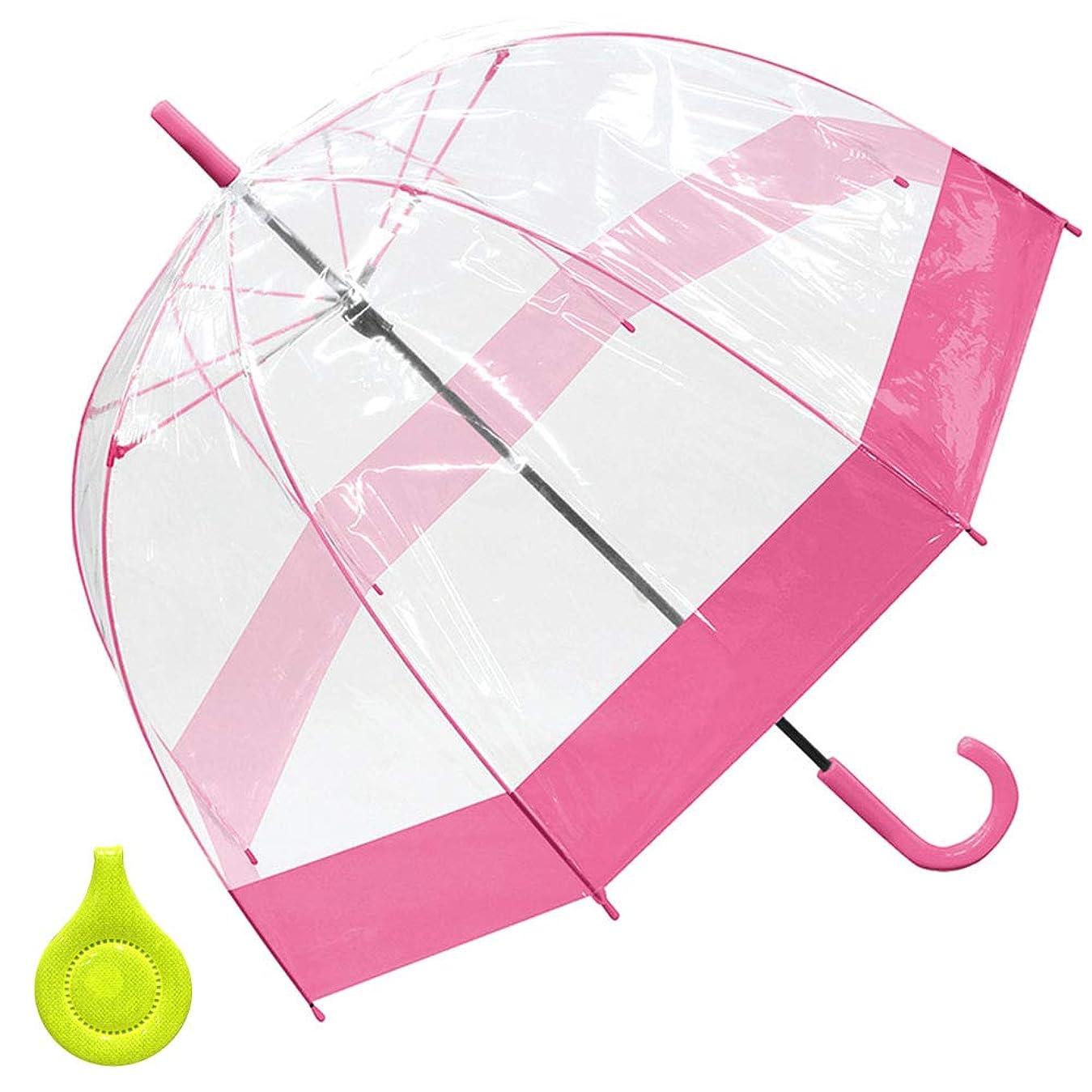 コール酸っぱい勤勉な女の子 子供傘 キッズ傘 55cm ジャンプ傘 長傘 リフレクター付き ゆめかわ ユニコーン