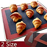 DeemoShop Silicone Mat for Oven Bakeware Perforated Baking Dish Silicone molds Mat Sheet Non-Stick Mat-Perforation Bread Biscuit Tools