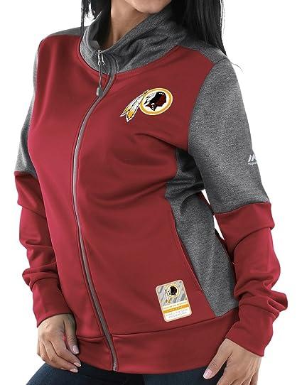 newest a78ed 905c4 Amazon.com : Majestic Washington Redskins Women's NFL Quick ...