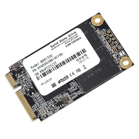 60/120 / 240GB Disco Duro Interno, Mini SSD Portátil MSATA Unidad de Estado