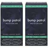 Bump Patrol Moisturizer with Aloe Vera Vitamin E and Chamomile (1.67 oz) 2 Pack