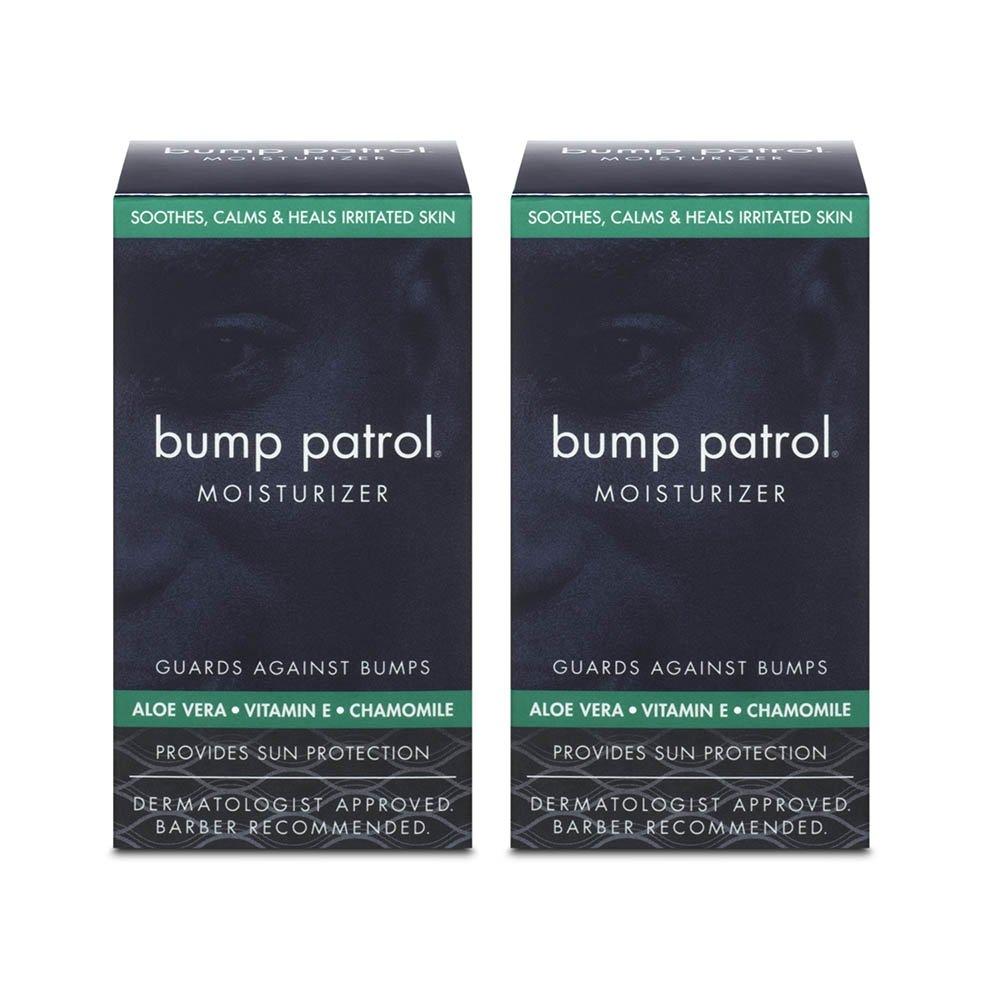 Bump Patrol Everyday Skin Moisturizer - Aloe Vera, Vitamin E, Chamomile Guards Against Razor Bumps, Ingrown Hairs - 1.69 Ounces 2 Pack