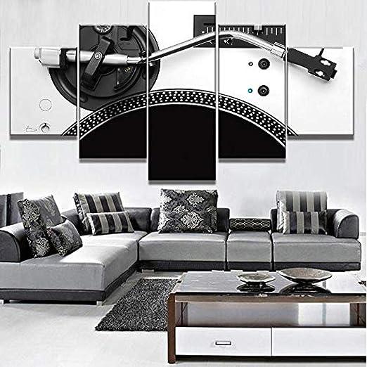 5 tableros están impresos en el lienzo HD Imprimir imagen ...