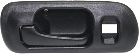 Interior Door Handle For 96-2000 Honda Civic Front or Rear Passenger Sedan Black