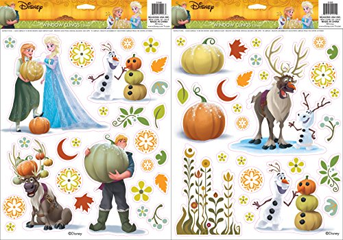 Halloween Frozen (Disney Frozen Window Cling Set)