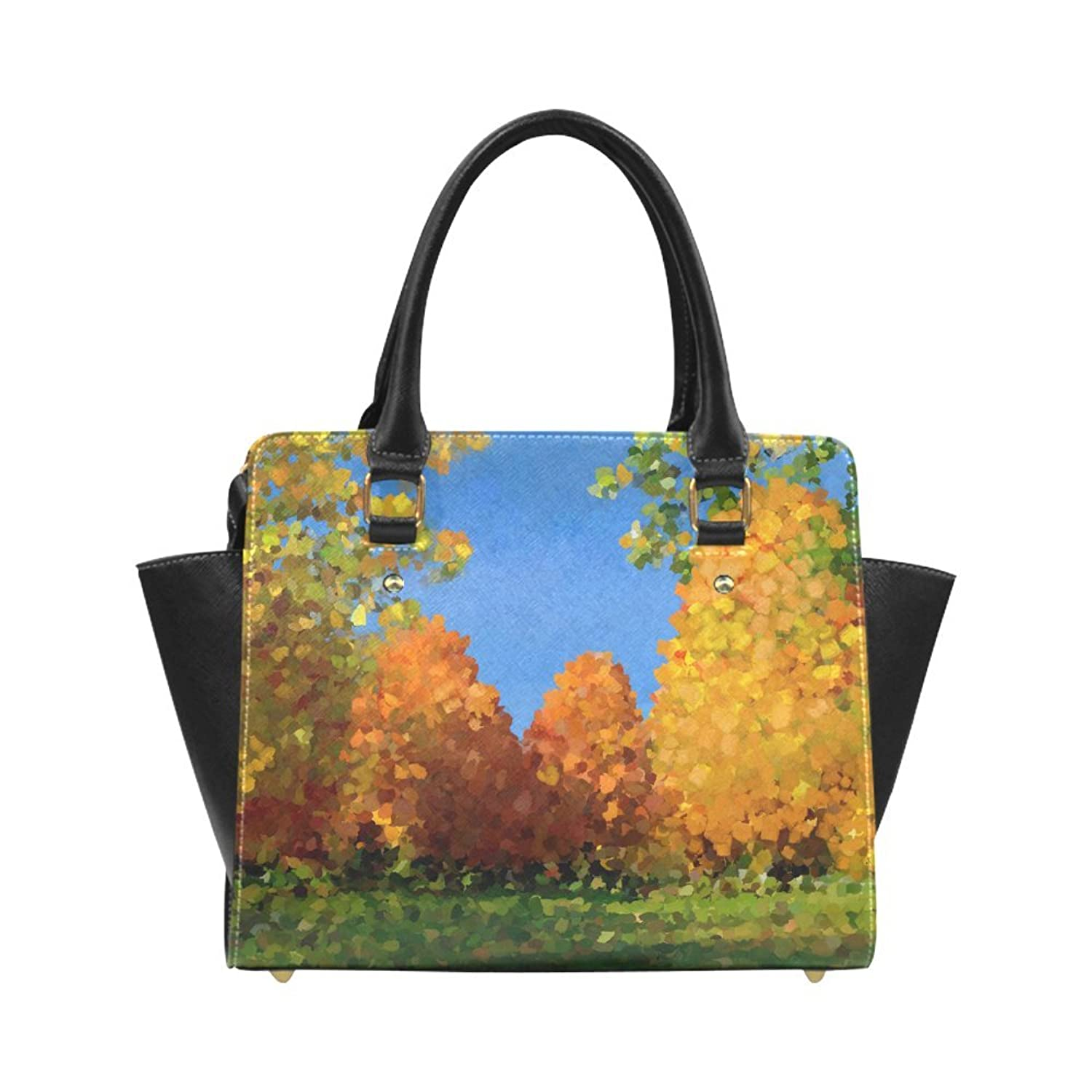 Interestprint Custom Park, oil painting Classic Women Top Handbag Shoulder Bag