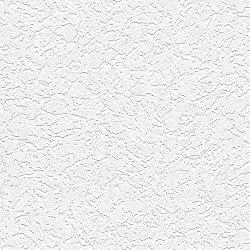 "Manhattan comfort NW48918 Grace Series Vinyl Textured and Paintable Design Large Wallpaper Roll, 21"" W x 33' L, White"