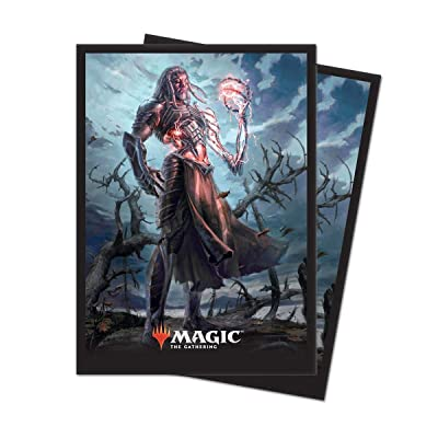 """Ultra Pro Magic: The Gathering Core Set 2020 """"Tezzeret, Artifice Master Deck Protector Sleeves (80 Count): Toys & Games"""