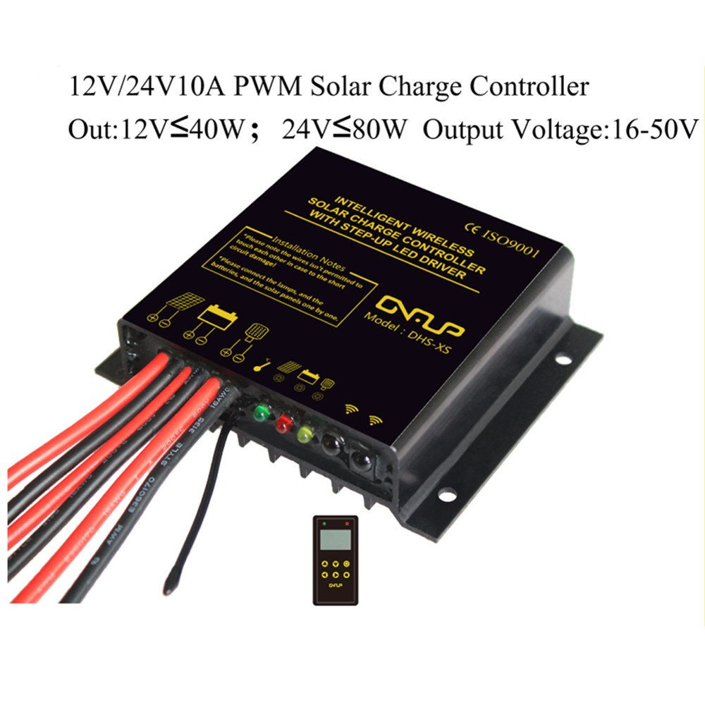 10a 12v 24v Intelligent Wireless Solar Charge Controller Led Pwm View By Chinaland Solarip68 Waterproof Grade With Step Up Driver For Street Light
