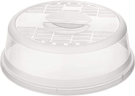 Rotho Basic - Tapa para microondas, transparente: Amazon.es