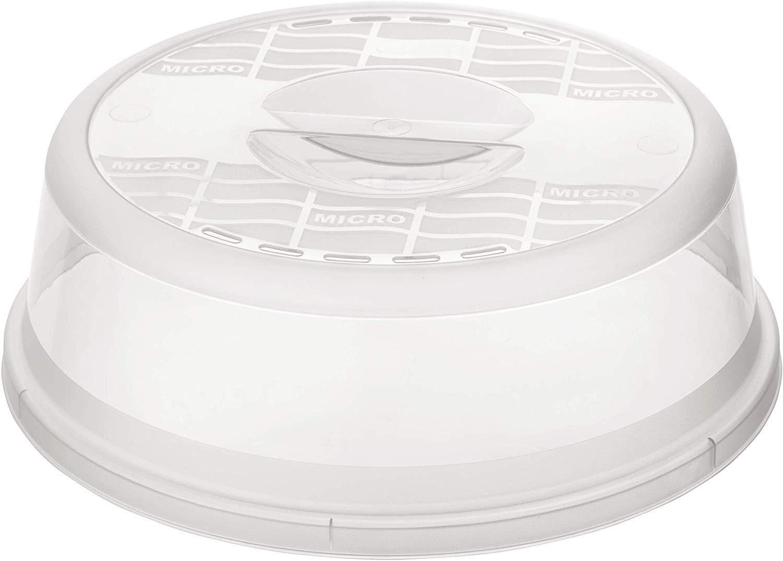 Rotho Basic - Tapa para microondas, transparente: Amazon.es: Hogar