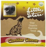 Wet Noses Little Stars Dog Training Treats, Made in USA, 100% All Natural Organic Ingrediants, Cheddar, 9 oz Box