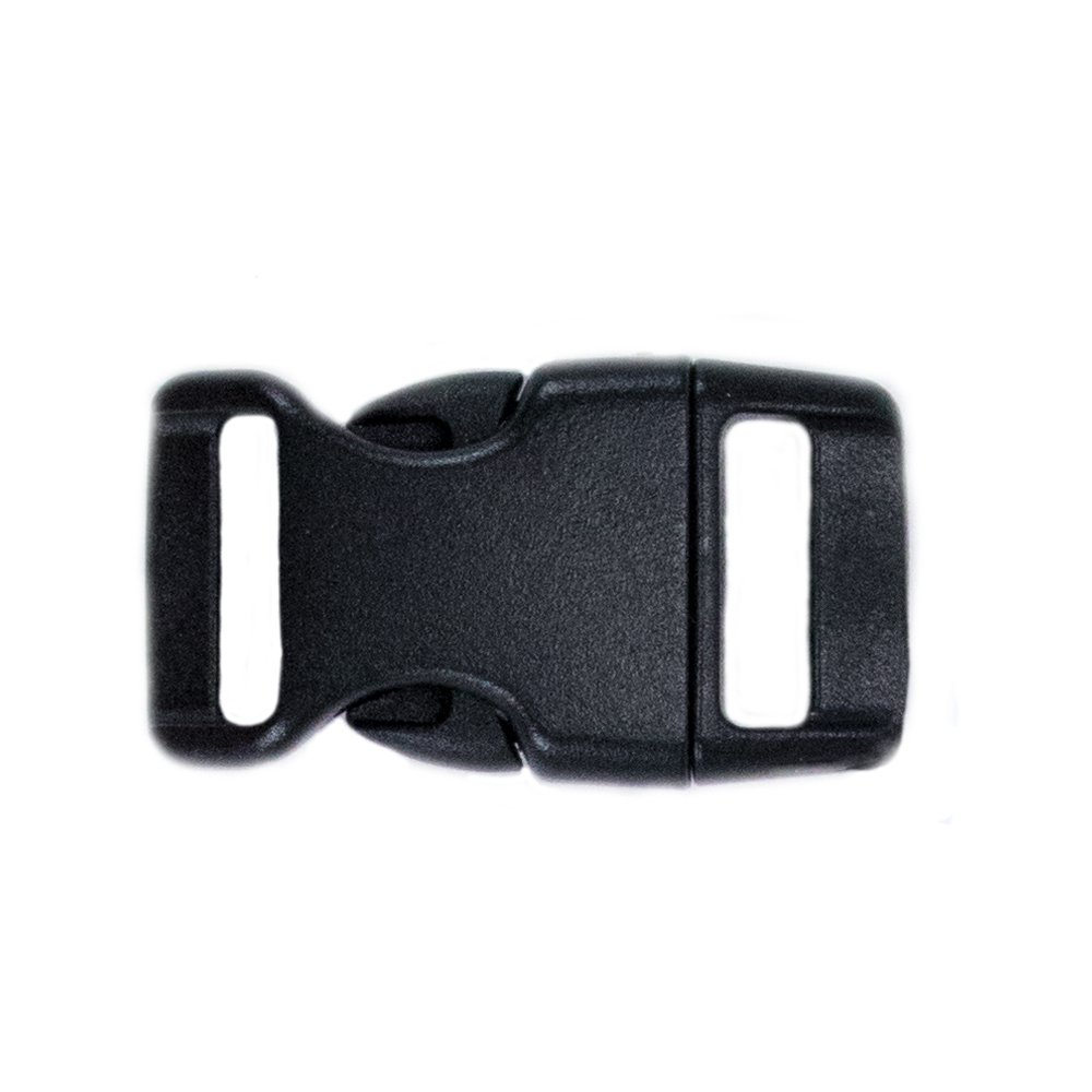 Craft County Wholesale 5/8 Inch Black Buckles (1000 Pack) by Craft County