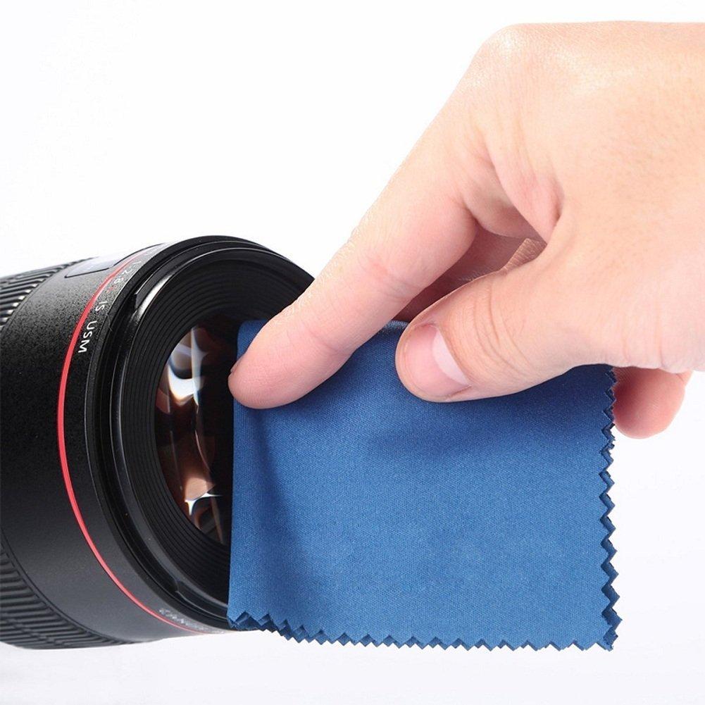 Funda de 6 Narunas de Filtro Pa/ño de Limpieza de Microfibra Centro Tapa Pinch del Objetivo + P/étalo Parasol Beschoi UV+CPL+FLD+ND2+ND4+ND8 Pack de Filtros Fotogr/áficos 67MM