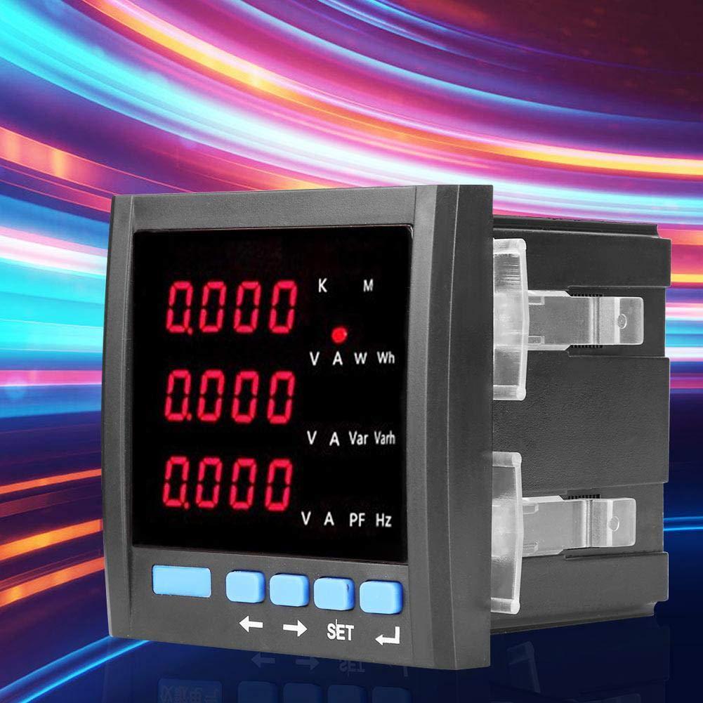 Tabella di combinazione di energia trifase intelligente di tensione di frequenza di alimentazione di corrente trifase del misuratore di potenza multifunzionale