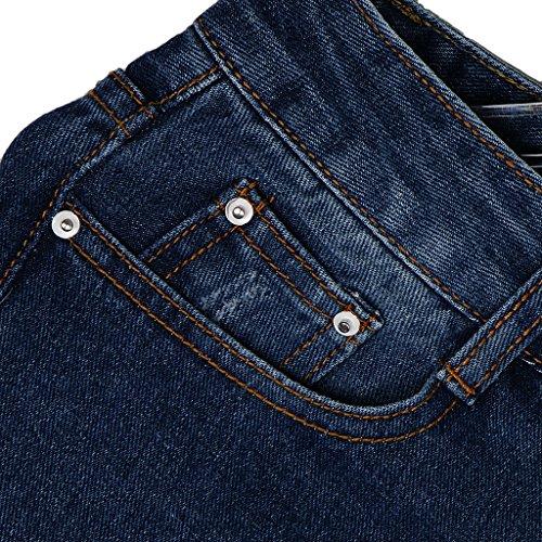 Pants Femmes bleu SlimGrand fonc Jeans Baoblade Pantalon Vintage S Trou Vintage XL YUnvdv