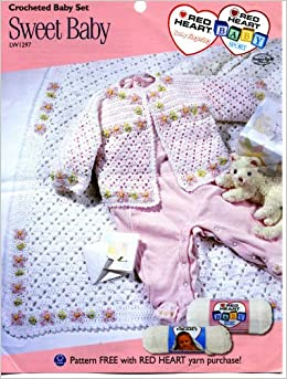247fad4f07fa Sweet Baby (Crocheted Baby Set) LW1297  Mary Jane Protus  Amazon.com ...