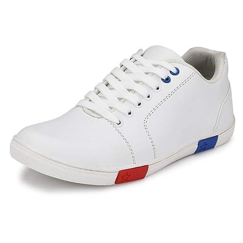 Revo-X All White Canvas Shoes Men Dance