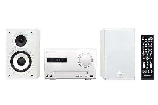 20 opinioni per Pioneer X-CM52BT-W Sistema Micro Hi-Fi, Lettore DVD, Bluetooth, Bianco