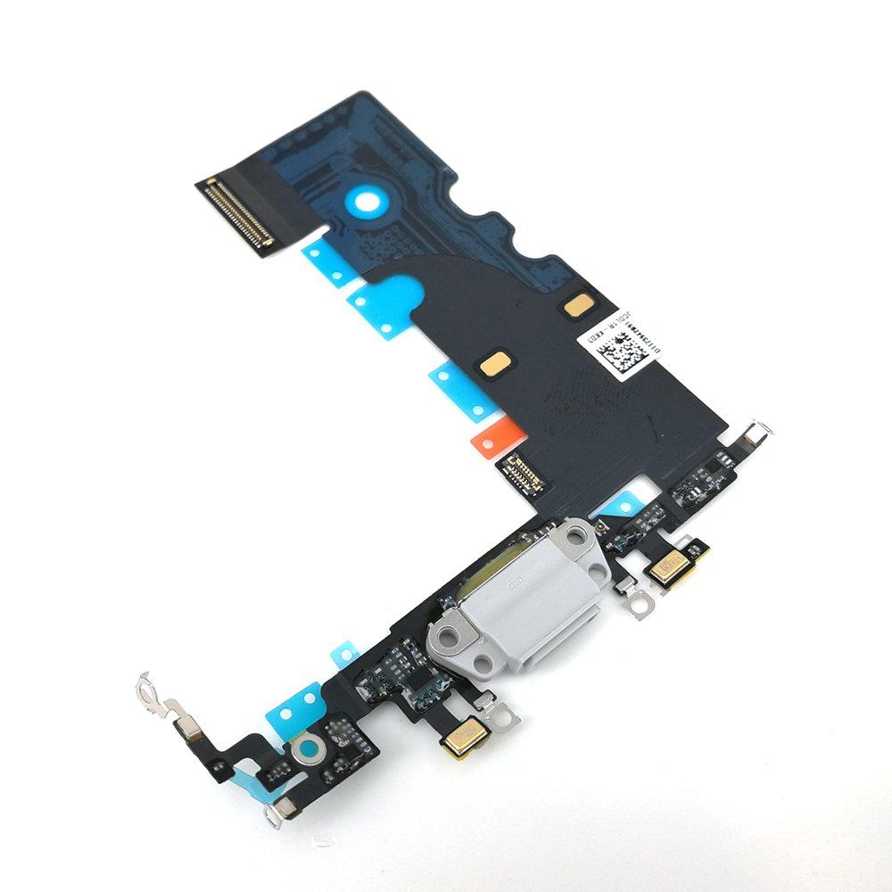Puerto de Carga para iPhone 8 4.7 pulgadas White  (3DKG)