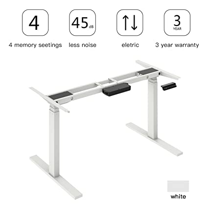 Amazon.com: AODAILIHB Electric standing lifting table frame, height ...