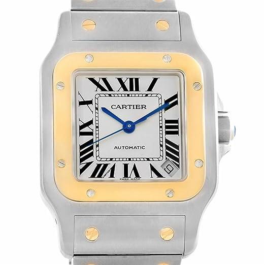 Cartier Santos Dumont Automatic-Self-Wind Mens Reloj W20099 C4 (Certificado) de Segunda Mano: Cartier: Amazon.es: Relojes