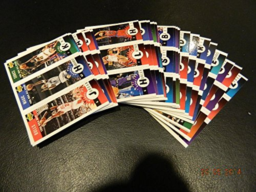 1996-97 Collector'S Choice Complete Series 1 Basketball 30 Tri Card Set Jordan